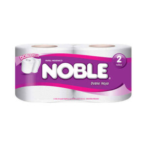 Papel higiénico Noble 2 rollos
