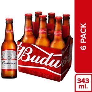Cerveza Budweiser 343ml