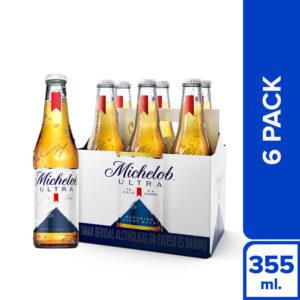 Cerveza Michelob Ultra 6 pack