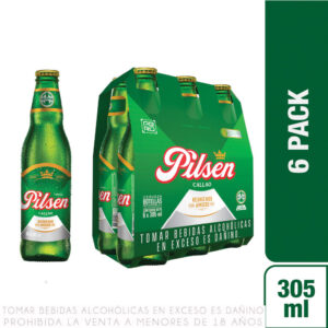 Cerveza Pilsen Callao 6 pack