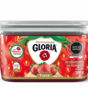 Mermelada de Fresa Gloria pote 320gr