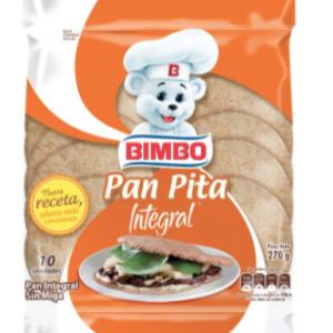 Pan Pita Integral Bimbo