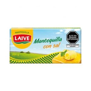 mantequilla con sal laive barra 200gr
