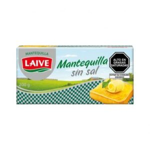 Mantequilla sin sal Laive 200gr