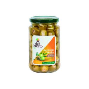 Aceituna rellena de castañas en aceite de oliva