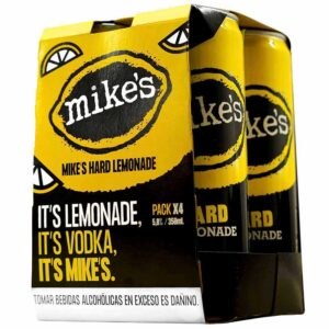 Vodka MIKES Hard Lemonade Lata 350ml