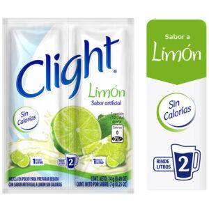 Bebida Instantánea en Polvo CLIGHT limon Sobre 7g