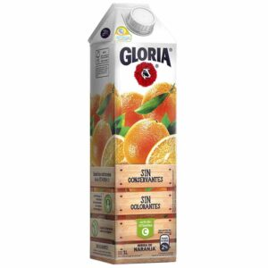 Jugo de naranja GLORIA 1lt
